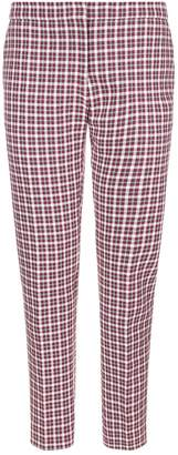 Burberry Straight Fit Check Trousers