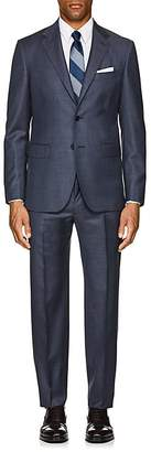 John Vizzone Men's Wool Two-Button Suit