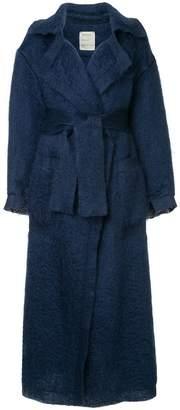 Maison Rabih Kayrouz belted midi coat
