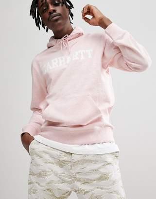Carhartt WIP College Hoodie In Pink