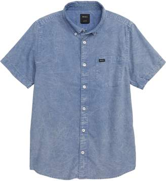 RVCA That'll Do Short Sleeve Oxford Woven Shirt
