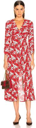 Rixo Katie Dress in Diana Floral | FWRD