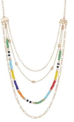 Melrose and Market Beaded Layered Necklace