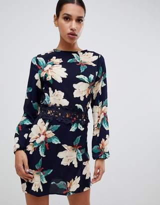 AX Paris floral printed mini dress