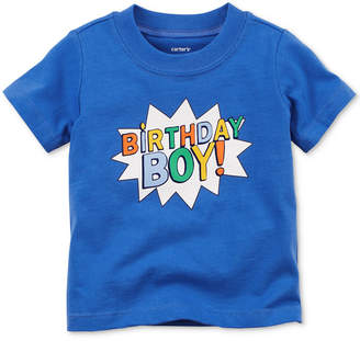 Carter's Birthday Boy Cotton T-Shirt, Baby Boys