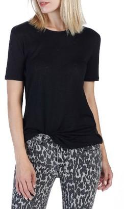 Women's Rosie Hw X Paige Cassandra Linen Tee $98 thestylecure.com