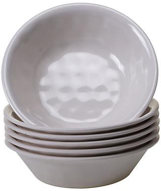 One Kings Lane Set of 6 Wayne Melamine Bowls - Cream
