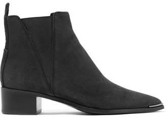 Acne Studios Jensen Suede Ankle Boots - Black