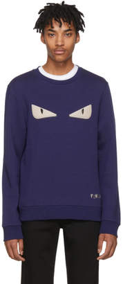 Fendi Blue Bag Bugs Sweatshirt