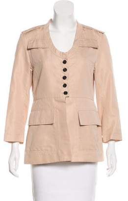 Marc Jacobs Long Sleeve Button-Up Jacket