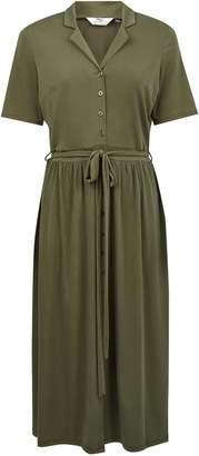 Dorothy Perkins Womens **Tall Khaki Shirt Dress
