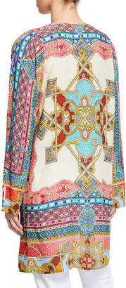 Johnny Was Afterglow Printed Tunic