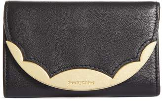 See by Chloe Brady Compact Leather Wallet