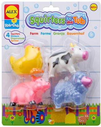 Alex Farm Bath Squirters Tub Toy Set