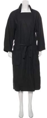 Humanoid Snap Long Coat