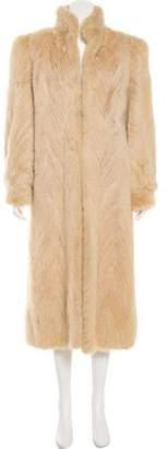 Neiman Marcus Mink Long Coat