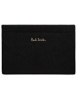 Paul Smith Geometric Leather Credit Card Case