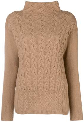 Max Mara polo neck jumper