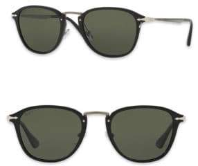 Persol Calligrapher 52MM Polarized Square Sunglasses