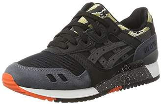 Asics Unisex Adults' Gel-Lyte III Trainers, Black, 38 EU