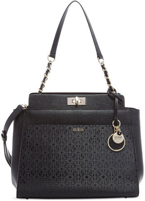 GUESS Janette Shoulder Bag $118 thestylecure.com