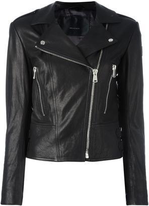 Belstaff leather jacket $1,150 thestylecure.com