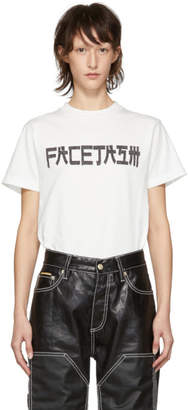 Facetasm White Logo T-Shirt