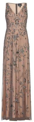 Adrianna Papell Long Fully Beaded Dress