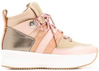 See by Chloe side stripe sneakers