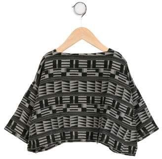 Tia Cibani Girls' Blanket Oversize Top w/ Tags