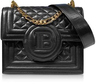 Balmain Quilted Leather B-Bag 21