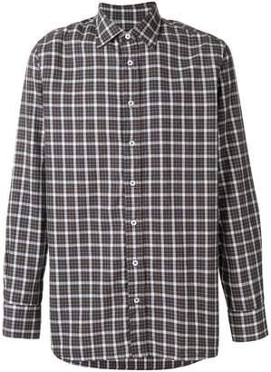 Lardini plaid shirt