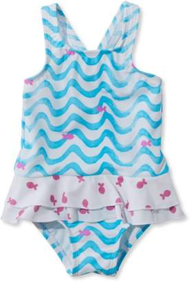 L.L. Bean L.L.Bean Infant and Toddler Girls' Sea Spray Swimsuit, One-Piece