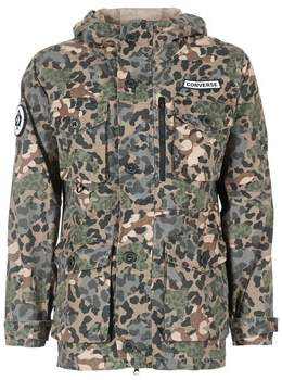 30b71fa5 Converse PRINTED COTTON UTILITY JACKET