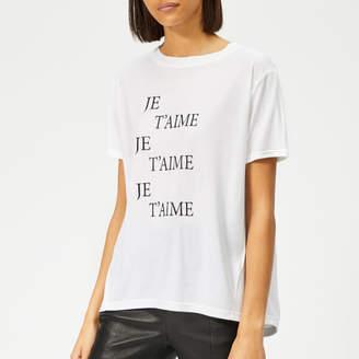 Whistles Women's Je T'aime Logo T-Shirt