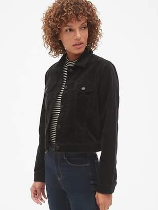 Gap Velvet Crop Icon Jacket