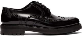 Dolce & Gabbana Patent Leather Brogues - Mens - Black