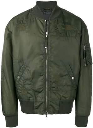 Diesel Black Gold Jingoll-Bus bomber jacket
