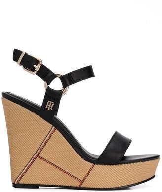 55337c4ff14 Tommy Hilfiger Wedge Women s Sandals - ShopStyle