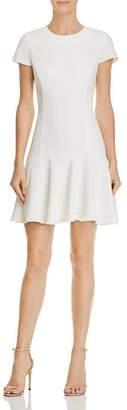 Amanda Uprichard Hudson Flounced Dress