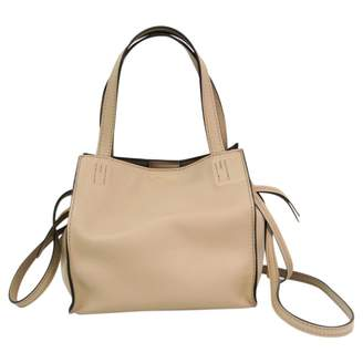 J&M Davidson J & M Davidson Beige Leather Handbags