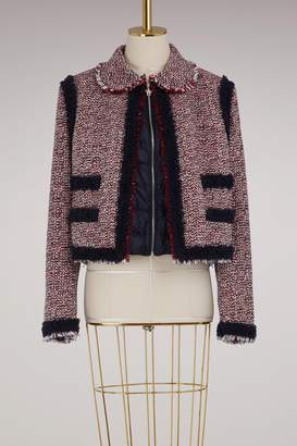 Moncler Gamme Rouge Aberdeen wool jacket