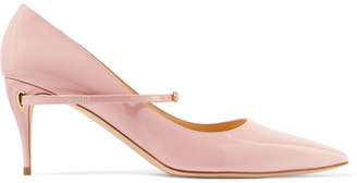 Jennifer Chamandi - Lorenzo Patent-leather Pumps - Pink