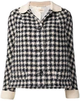 Bellerose check cropped jacket