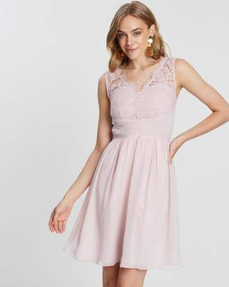 Dorothy Perkins Belle Lace Detail Prom Dress