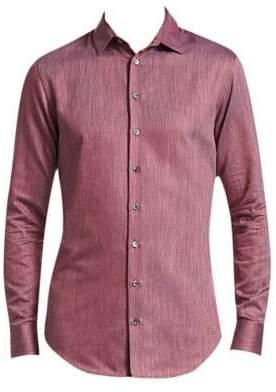 Giorgio Armani Micro Twill Weave Shirt