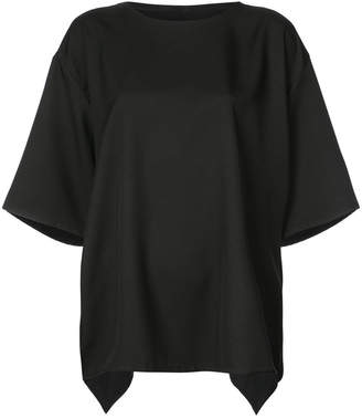 The Celect oversized winged sleeve top