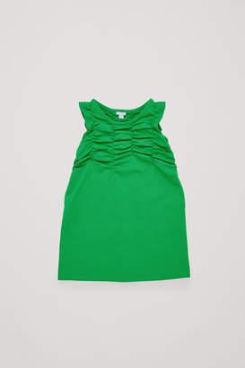 Cos GATHERED JERSEY DRESS