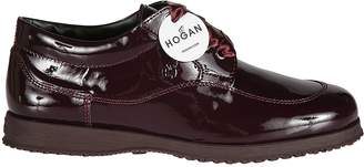 Hogan Glossy Oxford Shoes