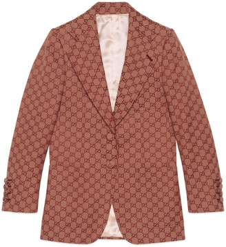 Gucci Women's GG canvas jacket